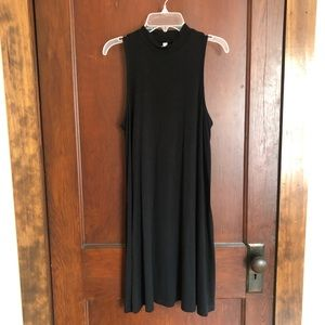 Black shapeless dress